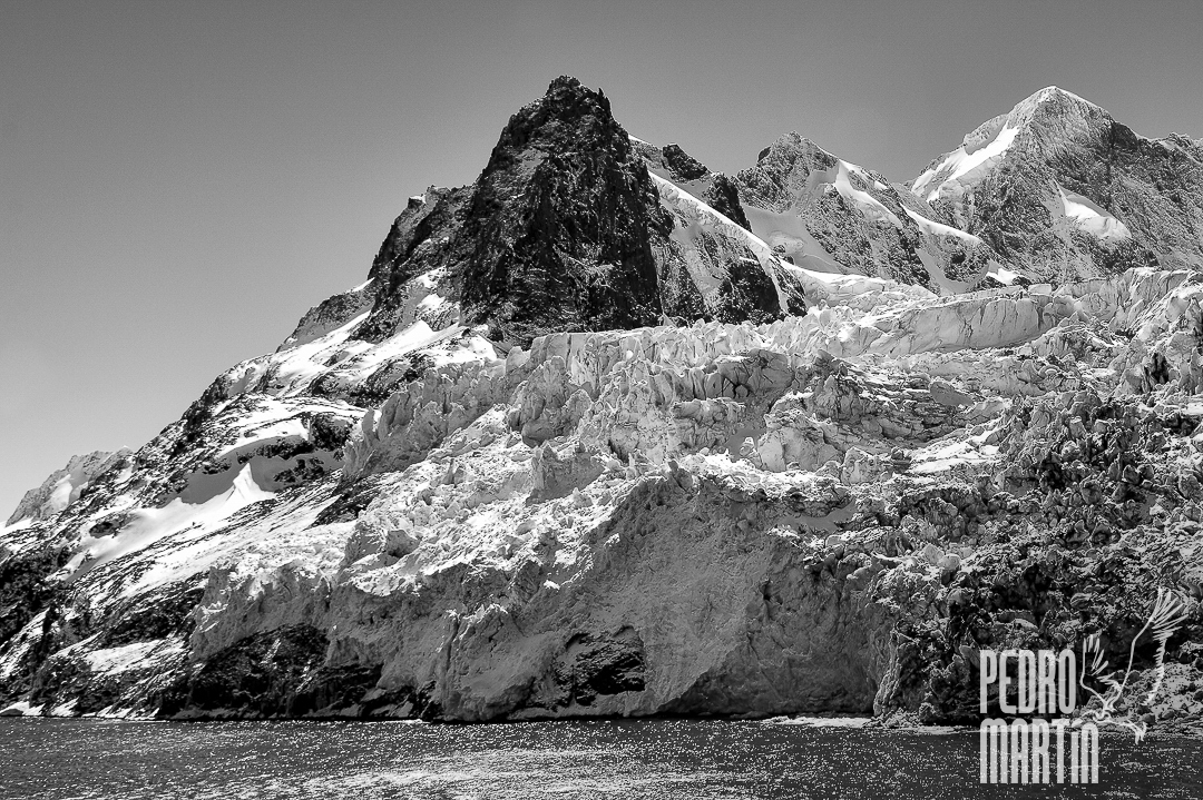Glaciares en Drygalski Fjord